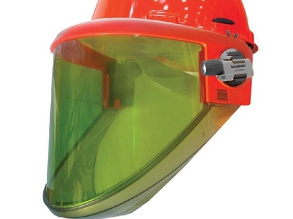 Marco de soporte de visera facial para escudo de protecci/ón facial con correa el/ástica ajustable marco de 4 piezas)